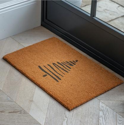 Christmas Tree Coir Doormat