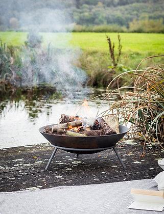 Oak N Smoke Cast Iron Fire Pit