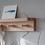 Thumbnail: Raw Oak 3 Peg Rail Shelf