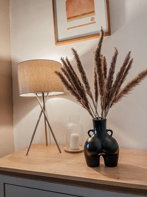 The Peach Vase - BLACK
