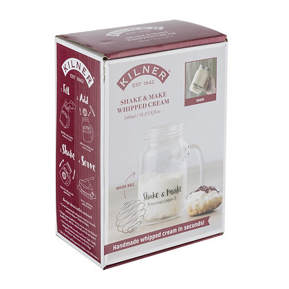 KILNER Shake & Make Whipped Cream