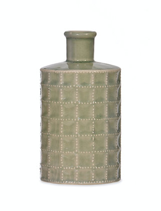 Ceramic Sorrento Light Green Bottle