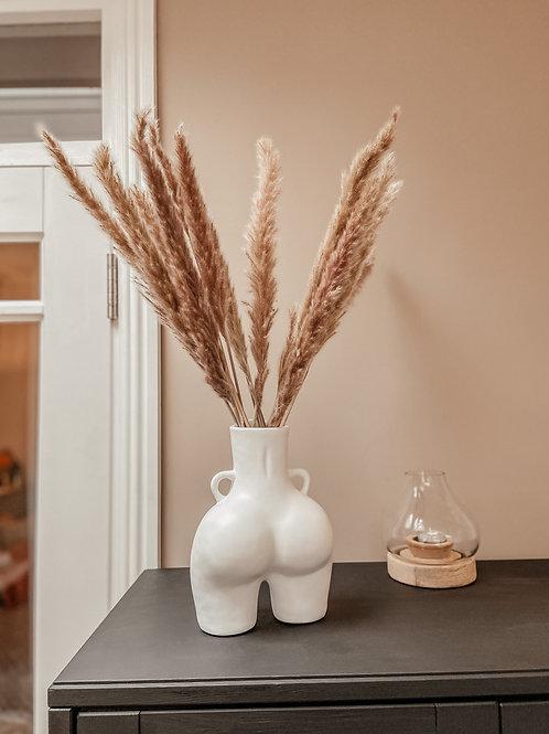 The Peach Vase - WHITE