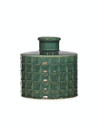 Ceramic Sorrento Green Bottle