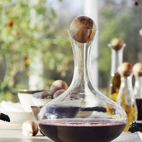 Wine Carafe with Oak Stopper - Sagaform
