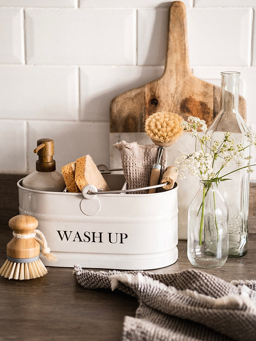 Steel Wash Up & Tidy with Handle