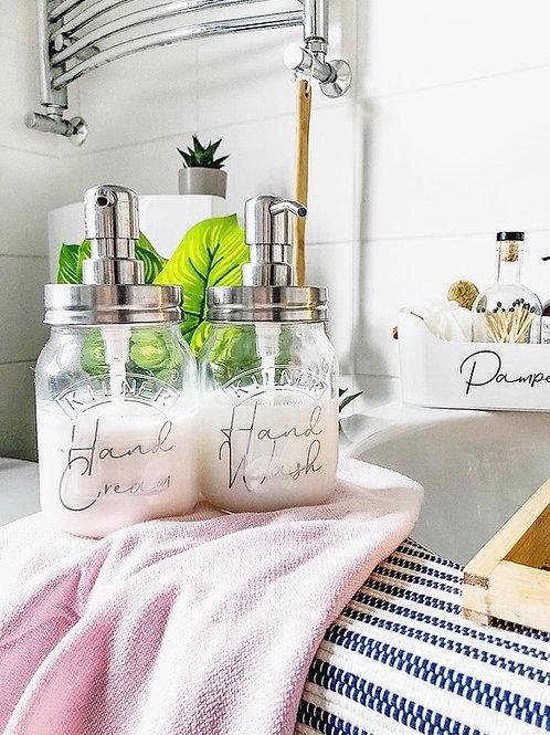 RYLE 500ml Kilner Jar Soap Dispenser