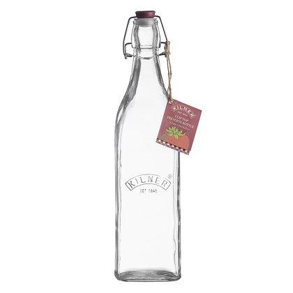 KILNER Clip Top Bottle - 1 Litre