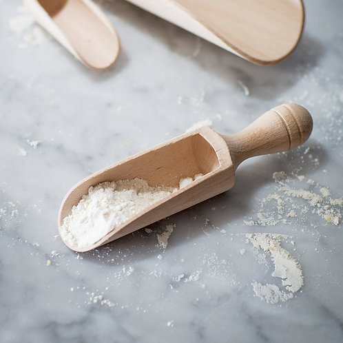 Beech Wooden Scoop / Spoon - 2 Sizes Available! Herb or Pantry