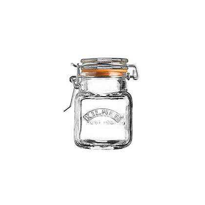 KILNER Clip Top Spice Jar - 70ml