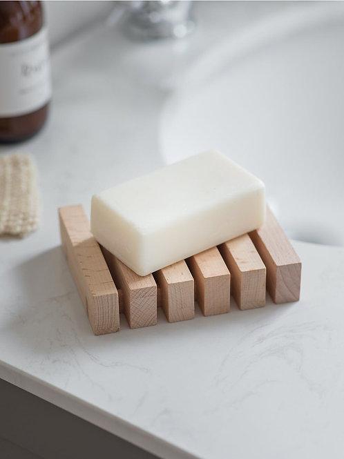 Natural Beech Wood Soap Dish