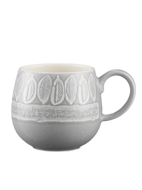 Mason Cash Impressions Grey Leaf Mug 350ml