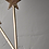 Thumbnail: Antique Brass STAR Candle Snuffer