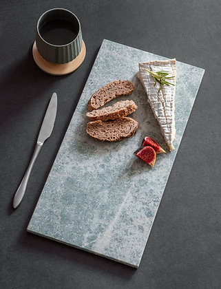Solid Marble Serving Board in Green