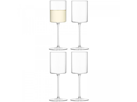 Set of 4 Otis White Wine Glass - LSA