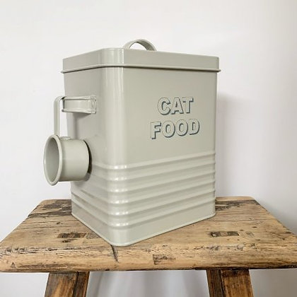Stone CAT Food Tin and Scoop