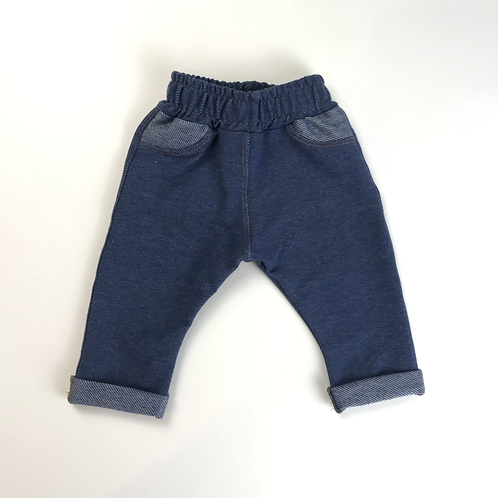 Pantalon jean elastizado