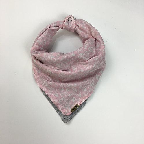 Pañuelo de abrigo - arabescos rosa