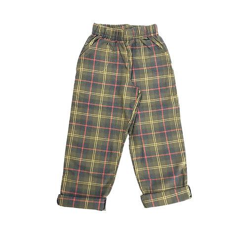 Pantalón Rudy - Cuadros Verde