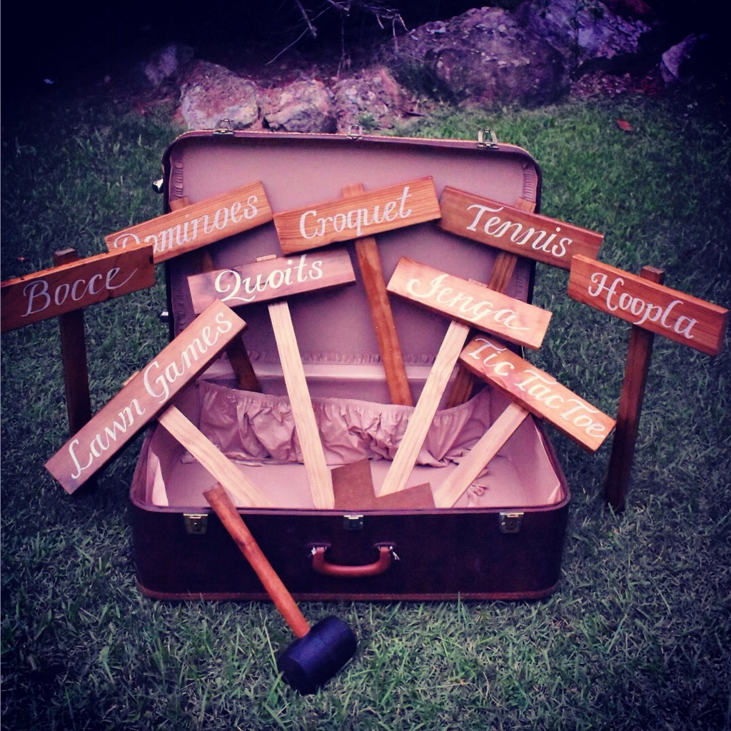 LAWN GAMES | Wedding Hire | Gold Coast City | Vintage Empire