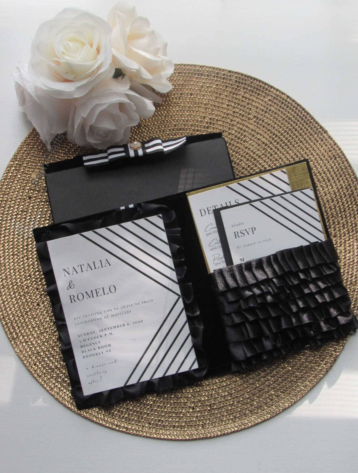 Black Tie Invitations