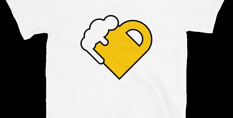 Fourth Room Brewing Heart Short-Sleeve Unisex T-Shirt