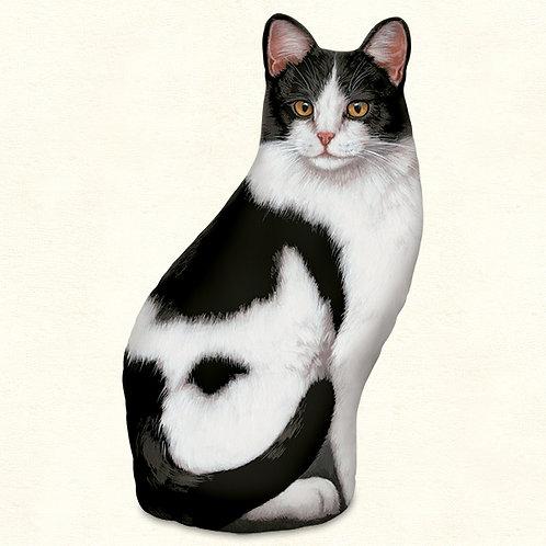 Black&White Cat Door Stop