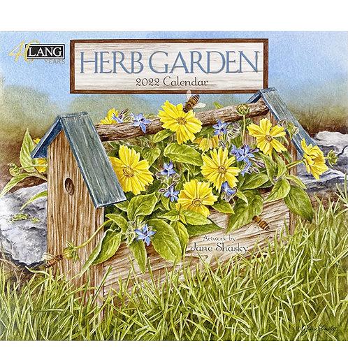 2022年LANGカレンダー Herb Garden ハーブガーデン