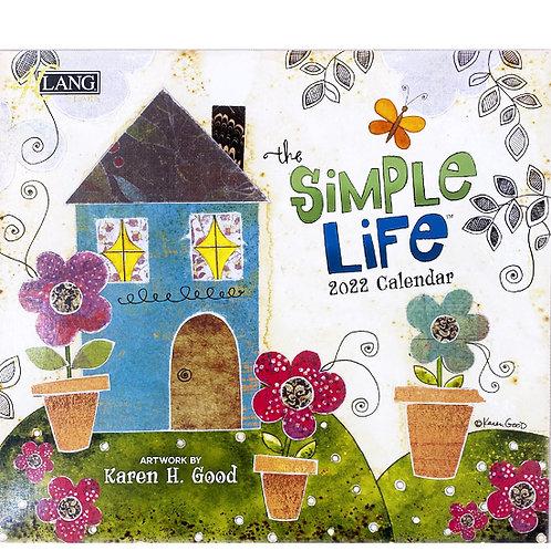 2022年LANGカレンダー Simple Life シンプルライフ