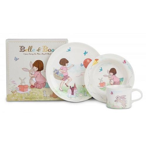 Belle&Boo メラミン 食器 3Pセット