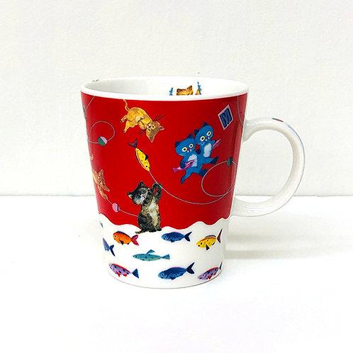 Ecoute Minette マグカップ おさかな