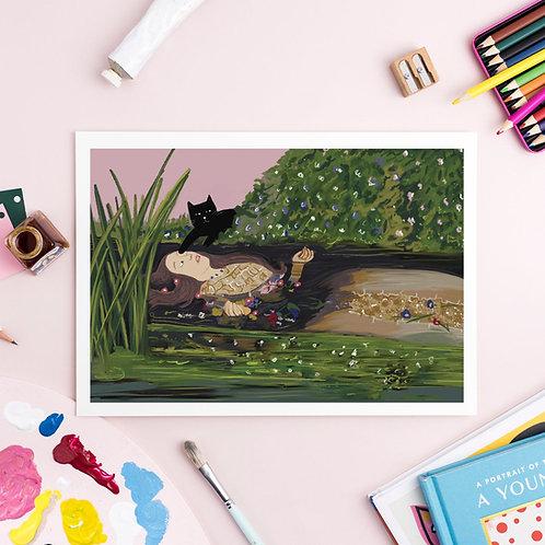 Ofelinea Cat Print