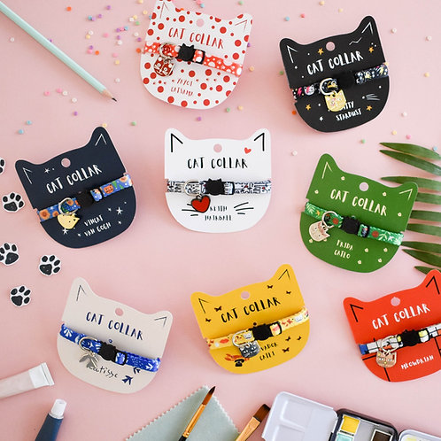 Niaski Artist Cat Collar