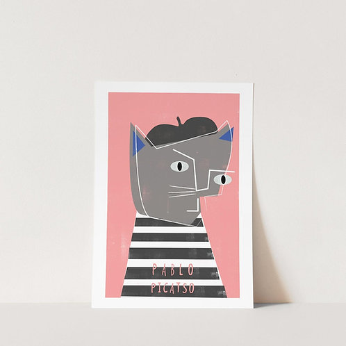 Pablo Picatso Art Print