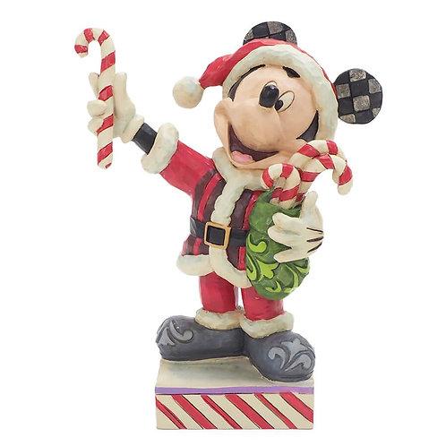 【Disney Traditions】ミッキー サンタクロース キャンディー<クリスマス>