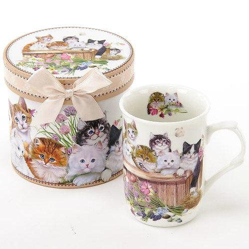 グレースマグ 猫と花束