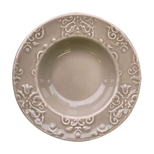 Value Ceramic スーププレート グレー
