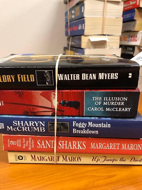Margaret Maron Walter Dean Myers Sharyn McCrumb