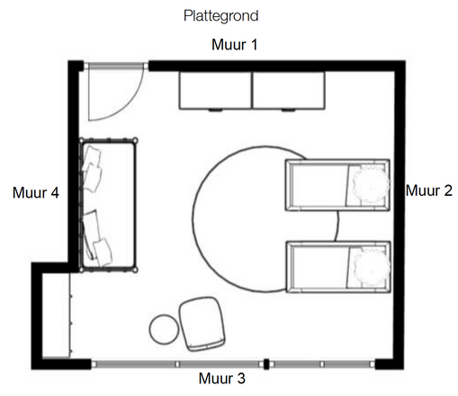 Plattegrond babykamer
