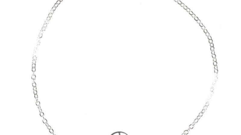 """Bracelet chaine """"Sacrée"""" argenté"""