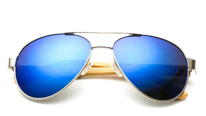 """Lunettes de soleil """"Aviateur Blue"""" - Mixte"""