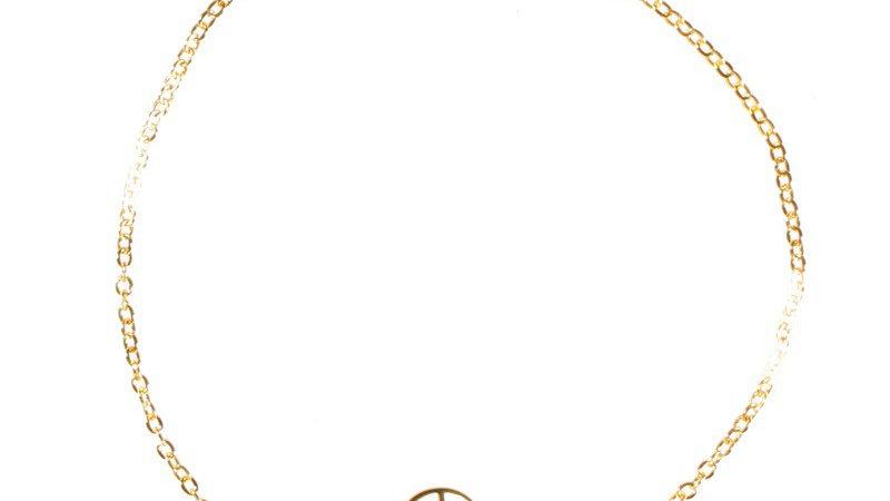 "Bracelet chaine ""Sacrée"" doré"