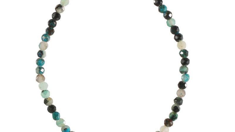 """Bracelet """"Perle naturelle et soleil"""" doré"""