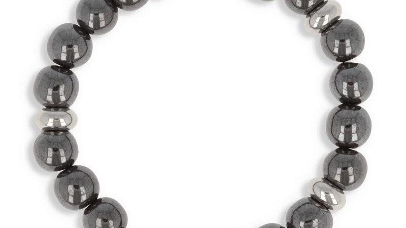 "Bracelet pierre ""Hématite"""