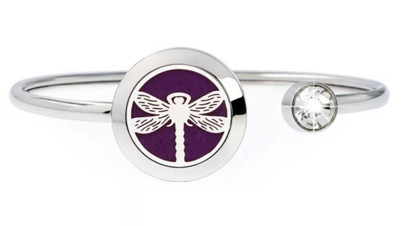 "Bracelet Parfumeur Jonc ""Libellule"" 20mm"