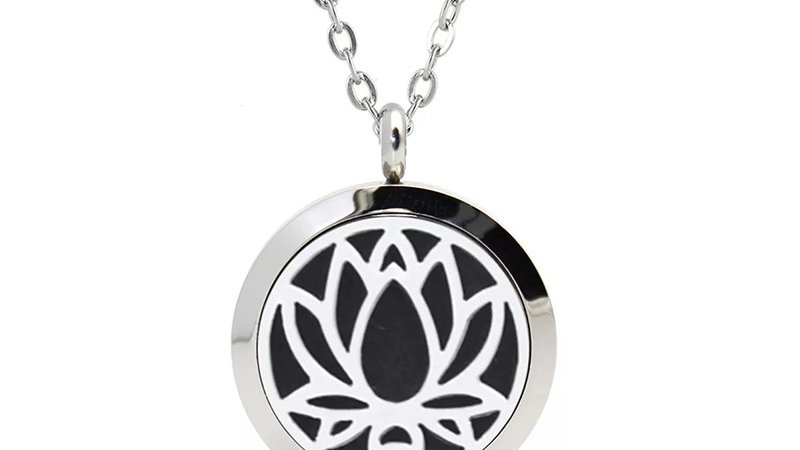"Collier Parfumeur ""Lotus"" 25mm"