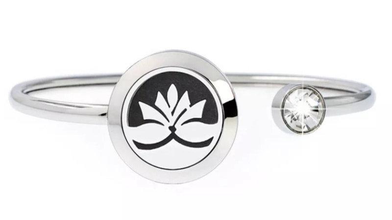 "Bracelet Parfumeur Jonc ""Lotus"" 20mm"