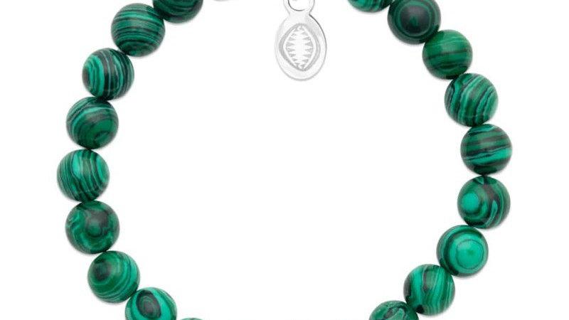 "Bracelet pierre ""Malachite"""