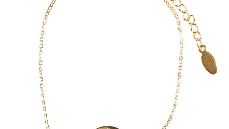 """Bracelet chaîne """"Arbre de vie"""" - Doré"""