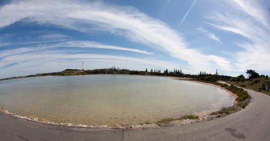 Salt Lakes Rottnest Island
